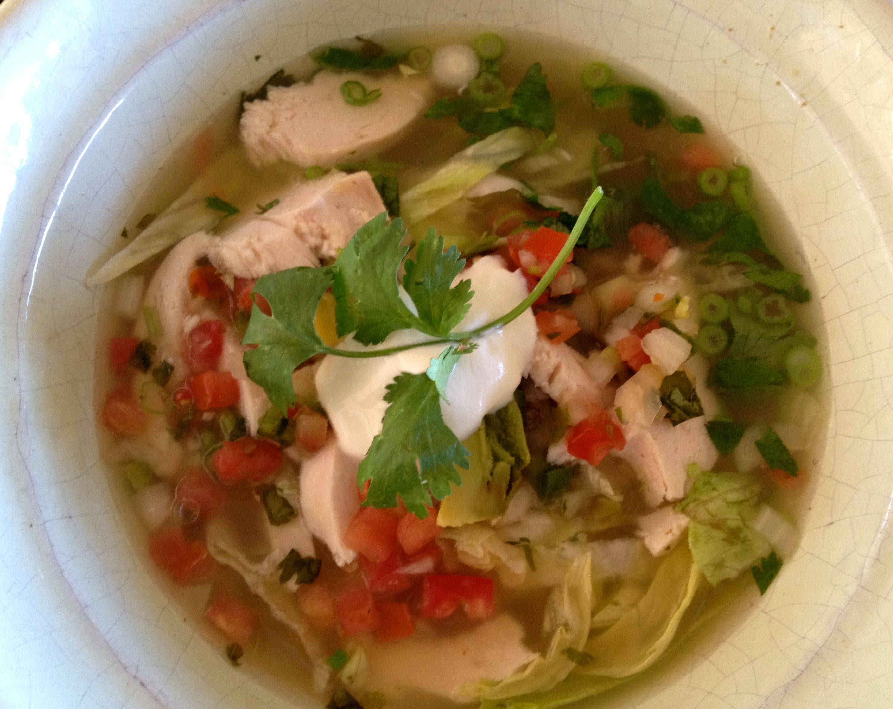 MANANA CHICKEN TORTILLA SOUP