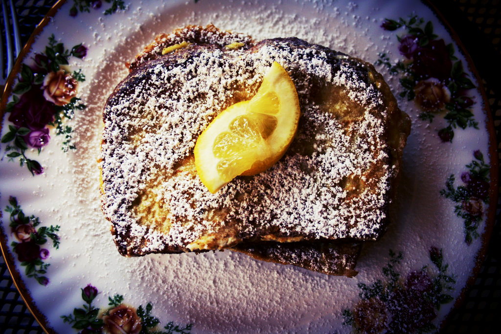 "Lemon ""Français"" Toast"