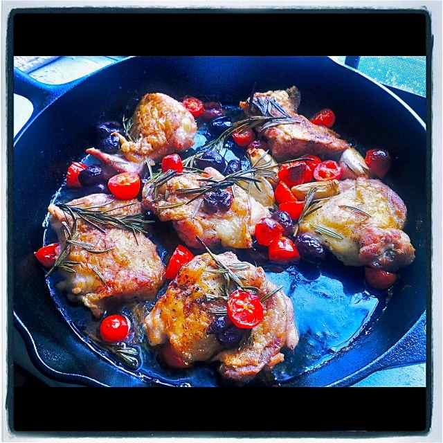 Cast Iron Chicken Thighs