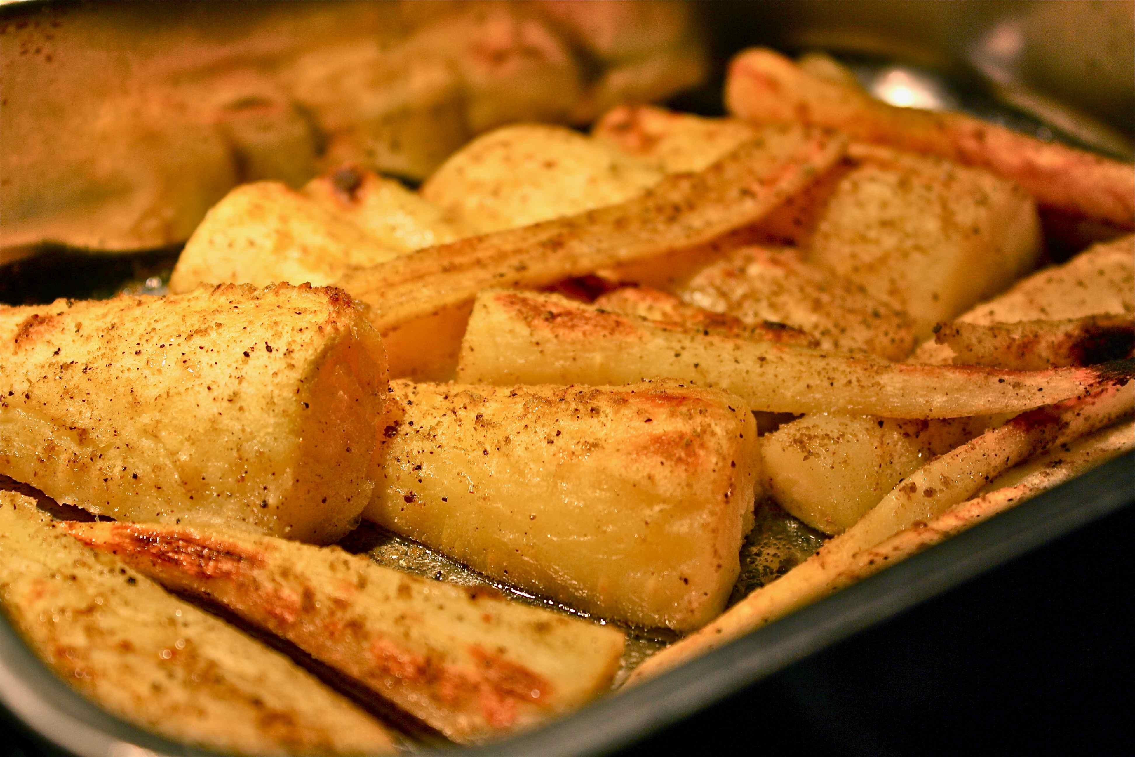 Roasted Parsnips Recipe — Dishmaps