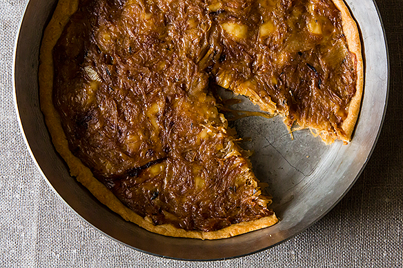 French Onion Tart on Food52