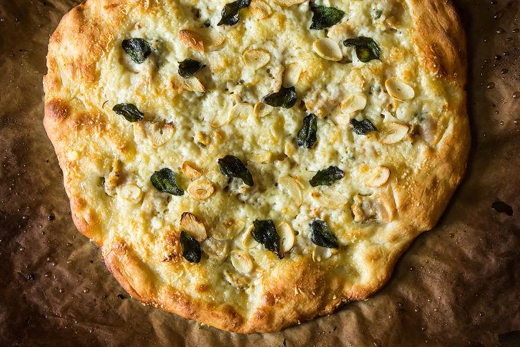 Cacio E Pepe Pizza With Roasted Radishes Recipes — Dishmaps