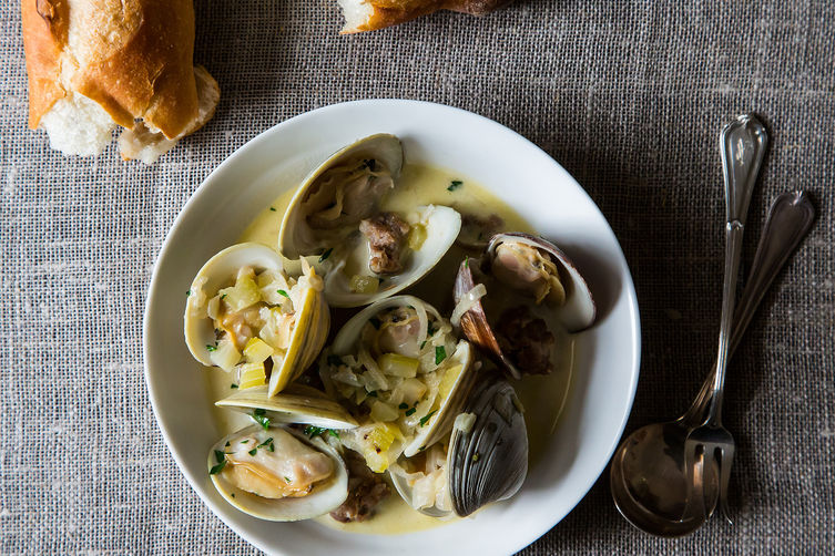 Cleaning and Cooking Shellfish from Food52