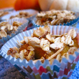 Pumpkin Crunch Muffin Bites