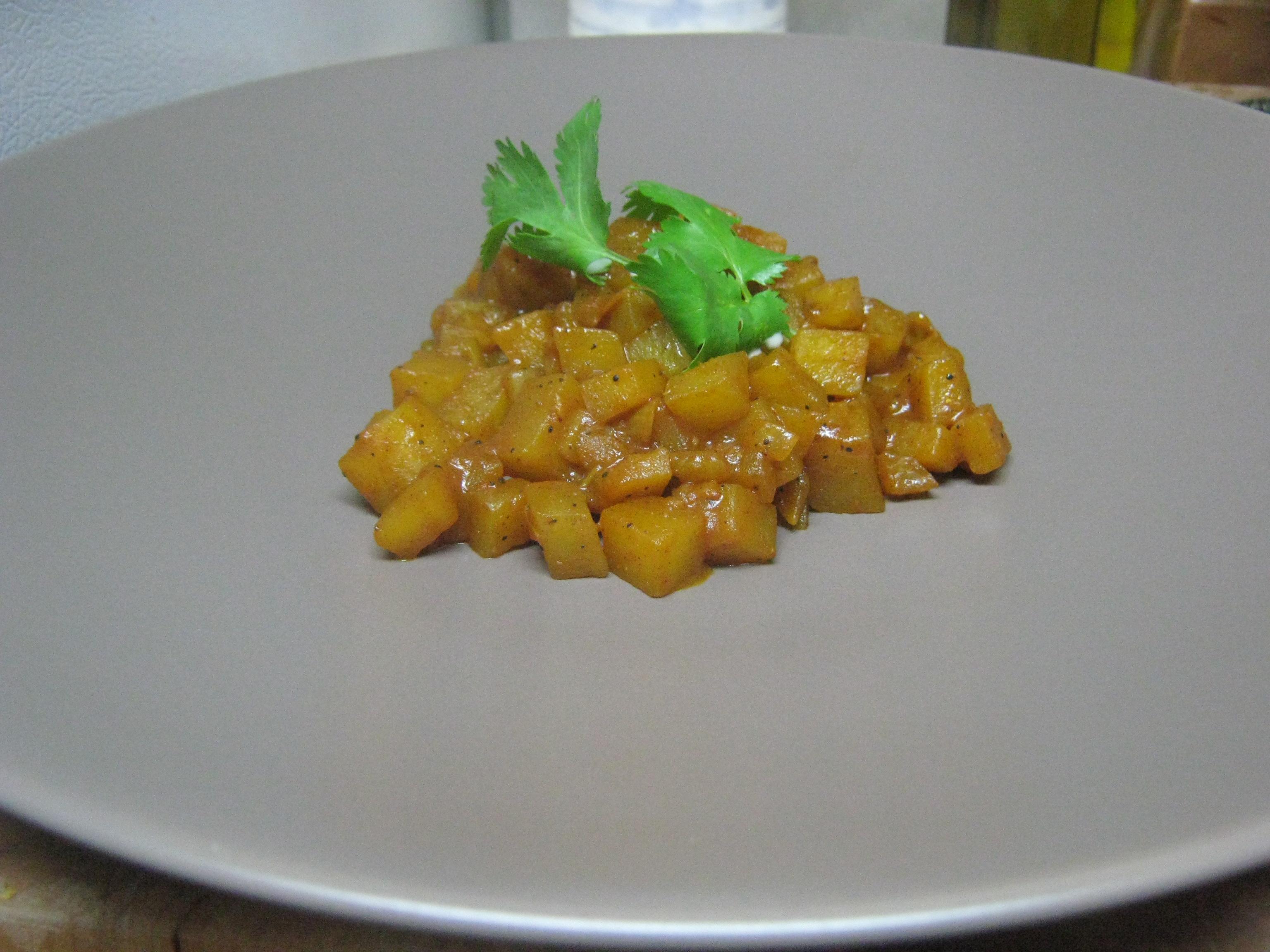 Curry Potato Risotto