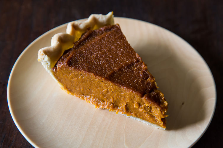 Vegan Pumpkin Pie on Food52