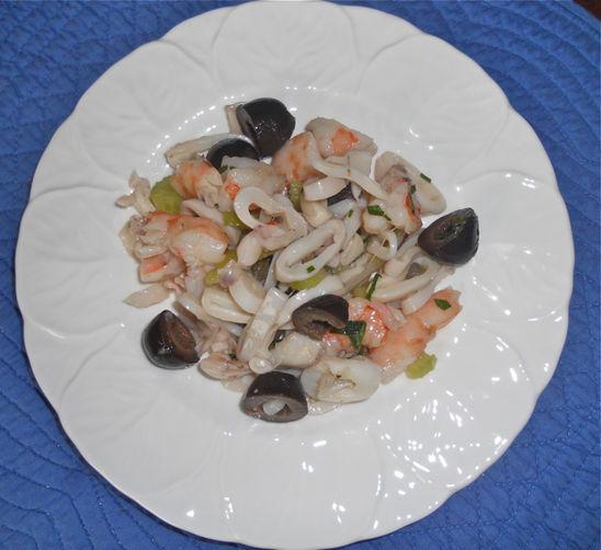 Shrimp and Calamari Salad