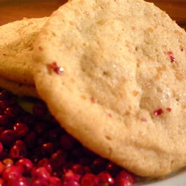 Pink Peppercorn Sugar & Spice Cookies