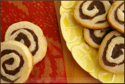 Date Swirl Cookies