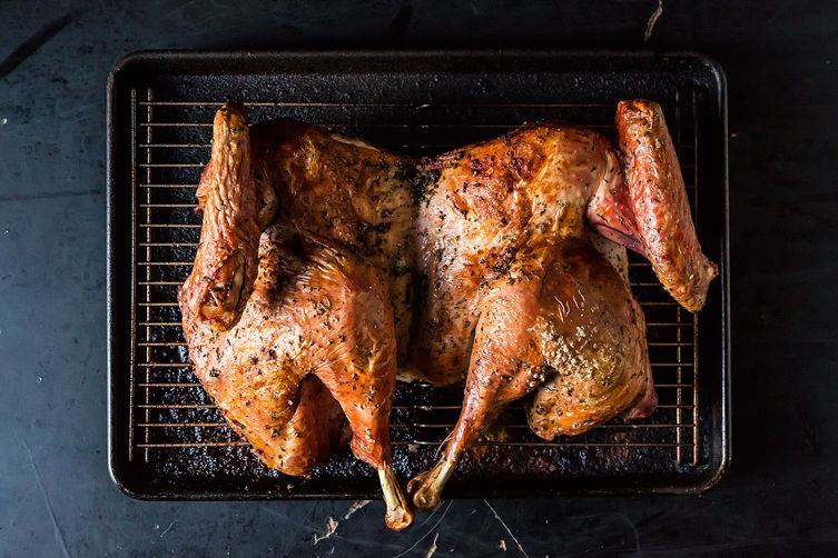 Spatchcocked Roast Turkey from Food52