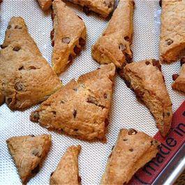 Cinnamon Chip Scones for Christmas morning