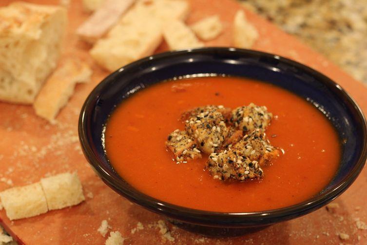 Savory Seedy Croutons