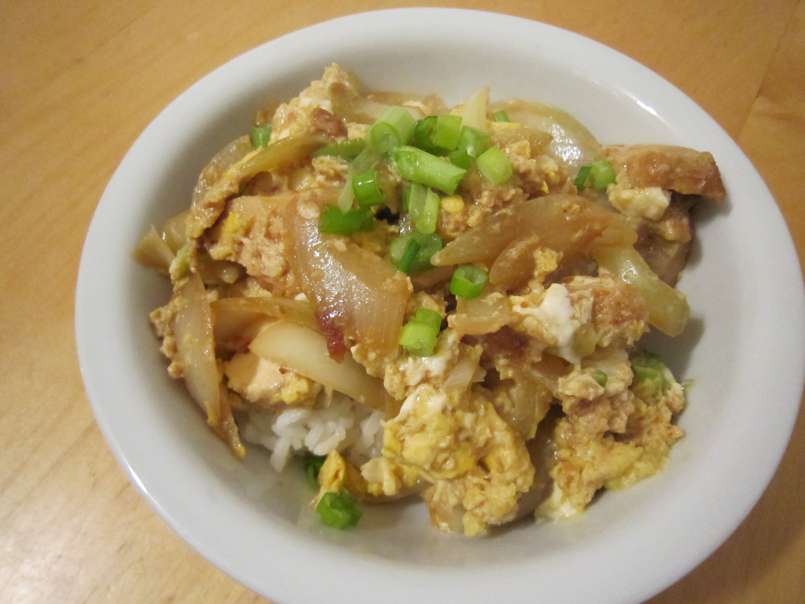 Oyako Donburi (Japanese Chicken & Egg Bowl)