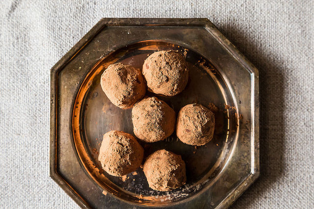 Early Grey Vanilla Bean Truffles