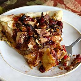 Turkey Cranberry Pizza Supreme