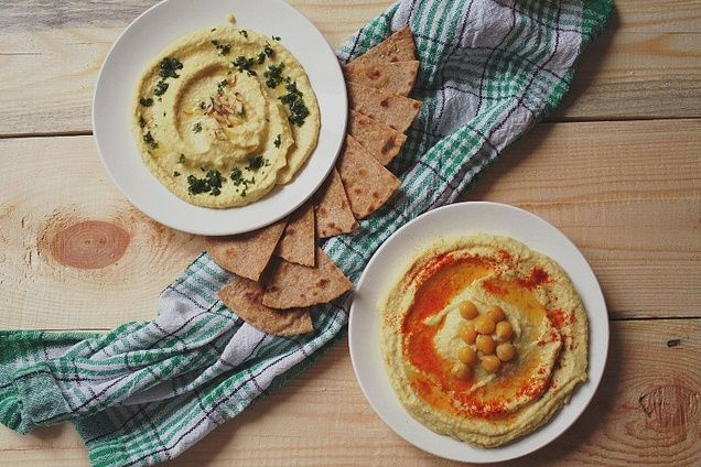 Must-Try Hummus and Tortilla Chips