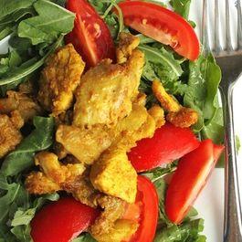 Warm Curried Chicken Salad
