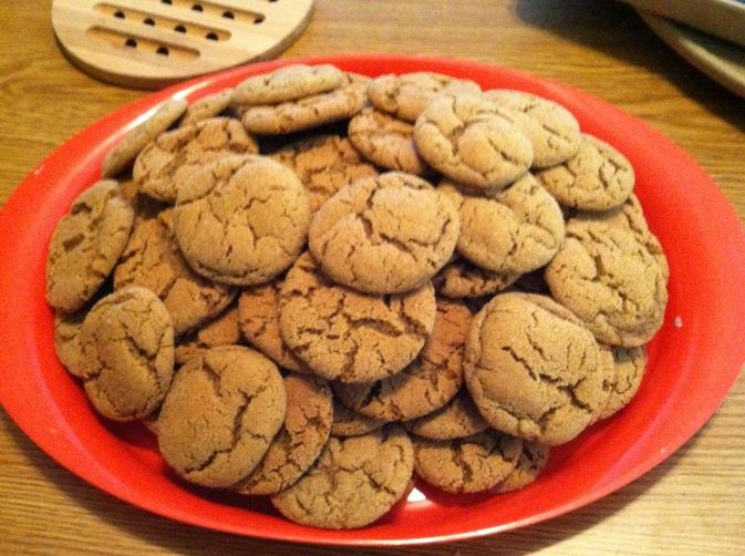 Soft Gingersnaps (a.k.a. Molasses Cookies)