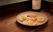 10 Minute Parmesan and Mustard Pinwheels