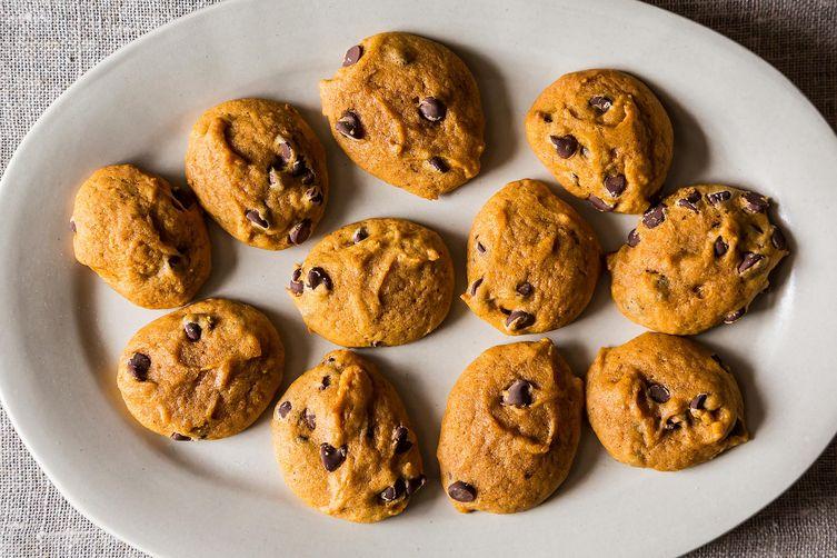Soft Pumpkin Chocolate Chip Cookies on Food52