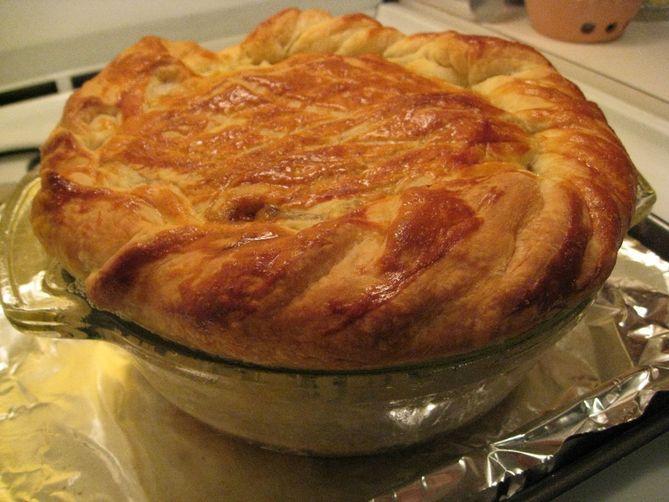 Steak & Guinness Puff Pastry Pie