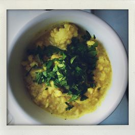 Cauliflower + Red Lentil Curry
