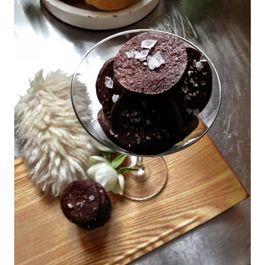 Fleur de Sel - Cayenne Chocolate Cocktail Cookies