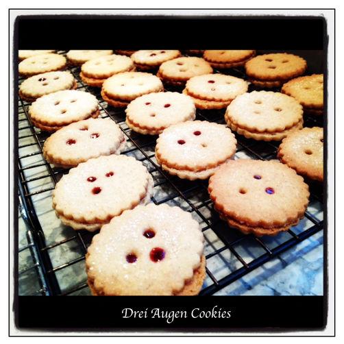 Drei Augen Cookie