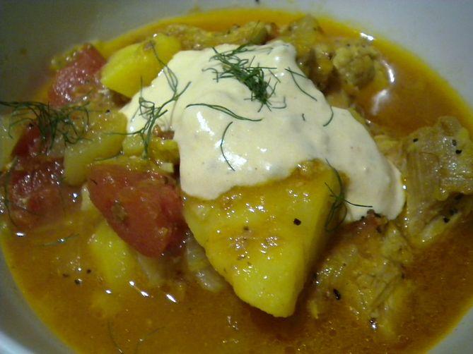 Chicken and Fennel Stew