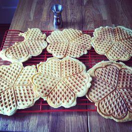 Beer waffles