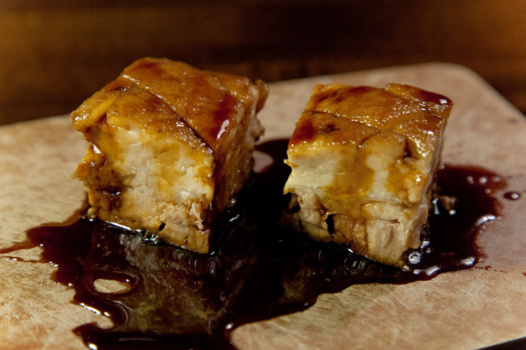 Guinness Lacquered Pork Belly