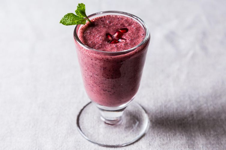 Triple Pomegranate Smoothie from Food52