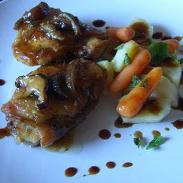 Braised Chicken Harvest Plate