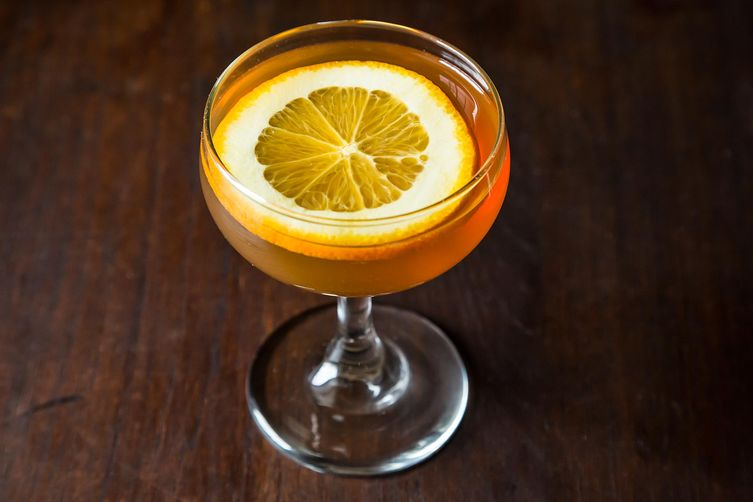 Bubbly Manhattan from Food52