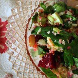 Roasted Beet & Quinoa Salad.