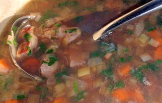 Leeky-beef-soup