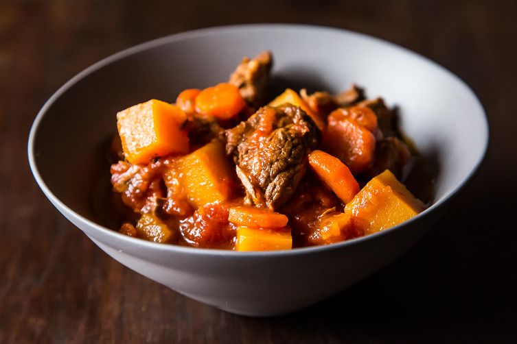Lamb Stew with Butternut Squash on Food52