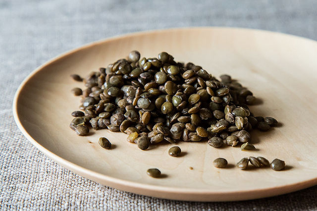 Green Lentil Salad on Food52
