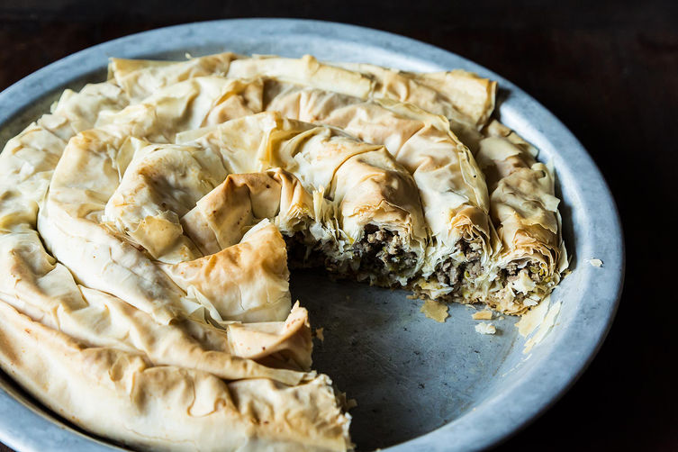 Balkan Lamb Pie on Food52