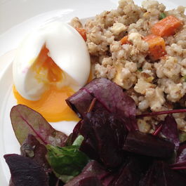 Blood Orange, Roasted Root Vegetable and Barley Salad