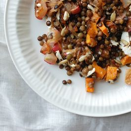 Lentil Salad with Meyer Lemon Vinaigrette