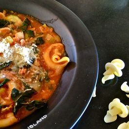 THE PEASANT'S MINESTRONE