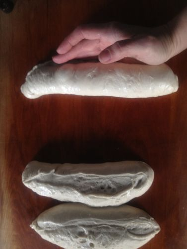 "Makeshift ""Couche"" & How-to-Shape High Hydration Sourdough Baguettes [edit mode]"