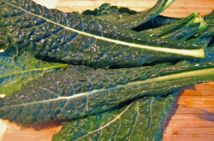 Wilted Kale Salad