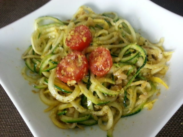 SUGAR - FREE Simply Zucchini Noodles