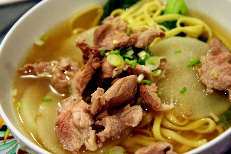 Jannah's daikon noodle soup