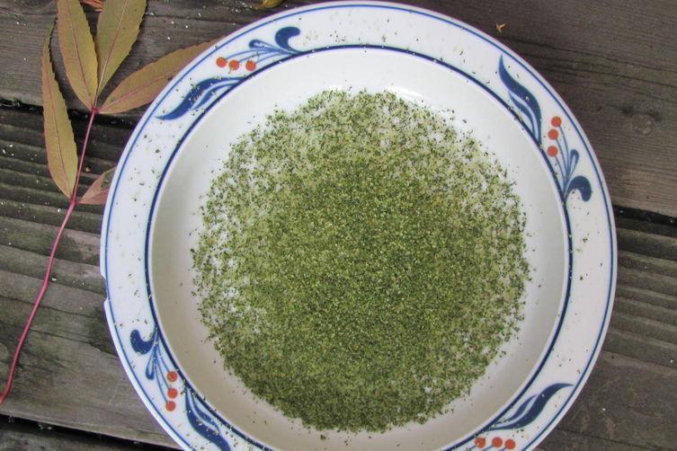 Herb Salts: An Adventure in Cooking from Fäviken