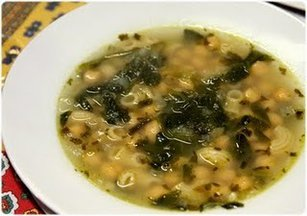 Sopa-graoespinafres