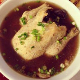 Samgyetang Noodle Soup