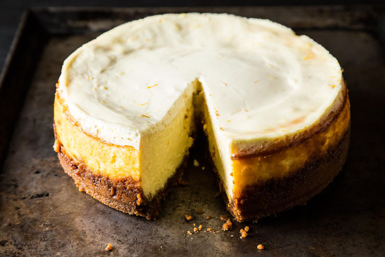Meyer Lemon Cheesecake from Food52